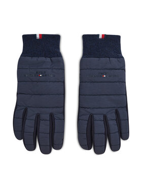 Tommy Hilfiger Tommy Hilfiger Mănuși pentru Bărbați Th Established Mix Nylon Gloves AM0AM07884 Bleumarin