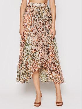 Guess Guess Maxi suknja W1GD0V WDV90 Smeđa