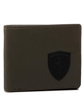 Puma Puma Veľká pánska peňaženka Sf Ls Wallet M 053473 02 Zelená