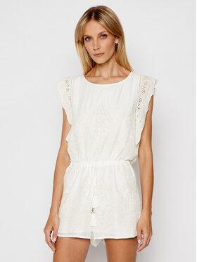 Patrizia Pepe Patrizia Pepe Ολόσωμη φόρμα 2P1306/A8X9-W146 Λευκό Slim Fit