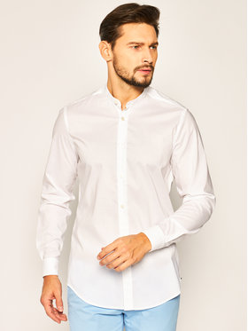 Boss Boss Košile Lamberto 50429218 Bílá Regular Fit