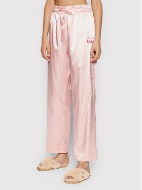 PLNY LALA PLNY LALA Pyžamové nohavice Susan PL-SP-A2-00003 Ružová
