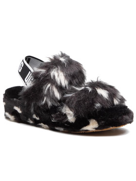 Ugg Ugg Papucs W Oh Yeah Spots 1118165 Fekete