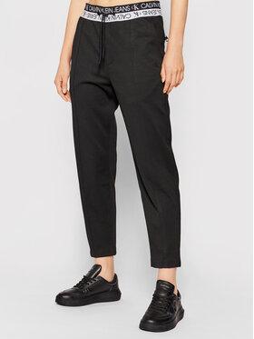 Calvin Klein Jeans Calvin Klein Jeans Teplákové nohavice J30J317199 Čierna Slim Fit