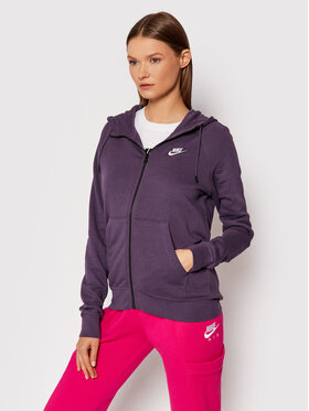 Nike Nike Mikina Sportswear Essential BV4122 Fialová Standard Fit