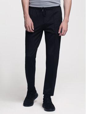 Vistula Vistula Kalhoty z materiálu Charlie Modern XA0700 Černá Regular Fit