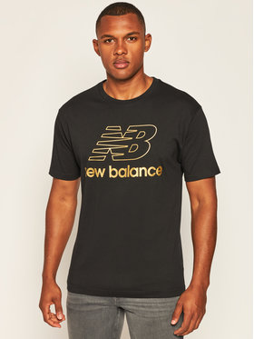 New Balance New Balance T-Shirt Nbathpodtee NBMT0350 Czarny Relaxed Fit