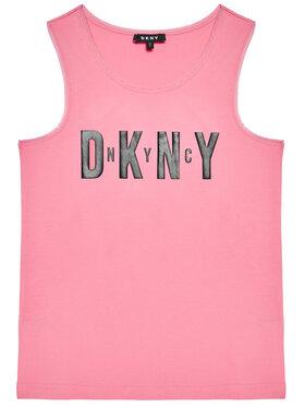 DKNY DKNY Felső D35R21 S Rózsaszín Regular Fit
