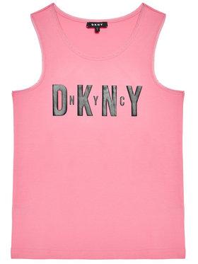 DKNY DKNY Marškinėliai D35R21 S Rožinė Regular Fit