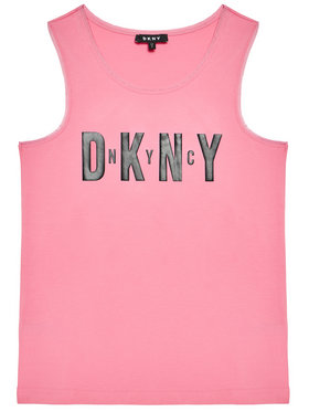 DKNY DKNY Top D35R21 S Różowy Regular Fit