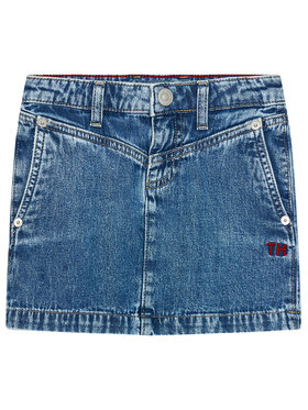 Tommy Hilfiger Tommy Hilfiger Gonna di jeans KG0KG05784 M Blu scuro Regular Fit