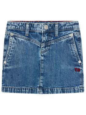 Tommy Hilfiger Tommy Hilfiger Spódnica jeansowa KG0KG05784 M Granatowy Regular Fit