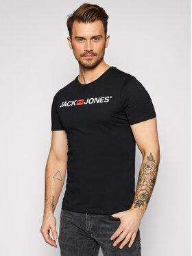 Jack&Jones Jack&Jones T-Shirt Jjecorp Logo 12137126 Černá Slim Fit