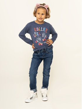 Pepe Jeans Pepe Jeans Halenka Mandy PG502290 Tmavomodrá Regular Fit