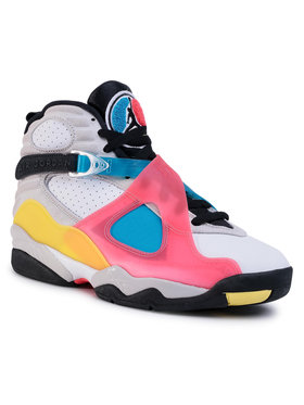 NIKE NIKE Chaussures Air Jordan 8 Retro Se BQ7666 100 Multicolore