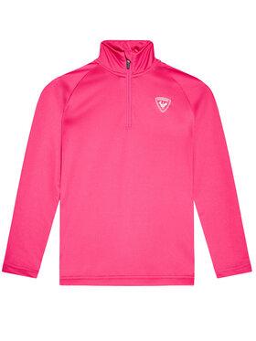 Rossignol Rossignol Techninis džemperis 1/2 Zip Warm RLIYL04 Rožinė Regular Fit