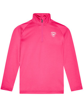Rossignol Rossignol Technisches Sweatshirt 1/2 Zip Warm RLIYL04 Rosa Regular Fit