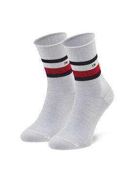 Tommy Hilfiger Tommy Hilfiger Dámské klasické ponožky 100002393 Bílá