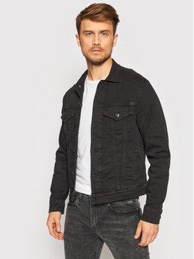 Pepe Jeans Pepe Jeans Traper jakna GYMDIGO Pinner PM400908 Crna Regular Fit