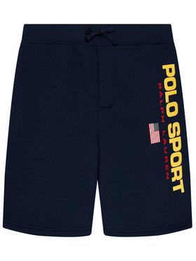 Polo Ralph Lauren Polo Ralph Lauren Sport rövidnadrág 323836668001 Sötétkék Regular Fit
