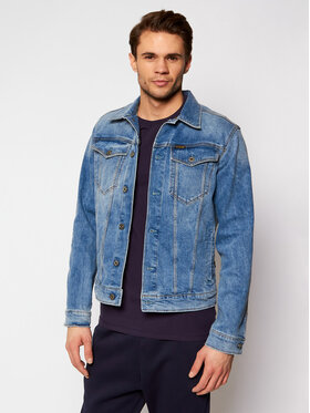 G-Star Raw G-Star Raw Jeansová bunda 3301 D11150-C052-C293 Modrá Slim Fit