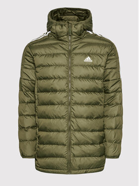 adidas adidas Giubbotto piumino Essentials GT9142 Verde Slim Fit