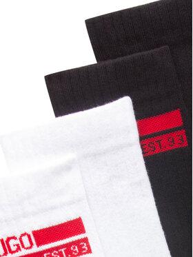 Hugo Hugo Σετ 2 ζευγάρια ψηλές κάλτσες ανδρικές 50442917 Μαύρο