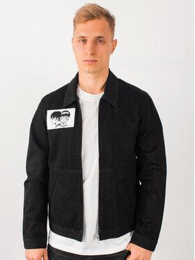Edwin Edwin Jeansová bunda Apollo Thomas Drizzler I028029 TJ0753Q 8902 Černá Regular Fit