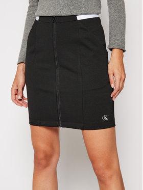 Calvin Klein Jeans Calvin Klein Jeans Φούστα mini J20J214946 Μαύρο Slim Fit