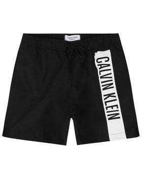 Calvin Klein Swimwear Calvin Klein Swimwear Плувни шорти Medium Drawstring B70B700225 Черен Regular Fit