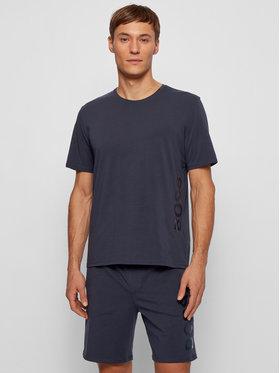 Boss Boss T-shirt Identity Rn 50442645 Tamnoplava Regular Fit