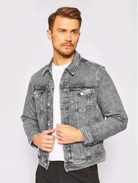 Calvin Klein Jeans Calvin Klein Jeans Kurtka jeansowa Washed Foundation J30J316005 Szary Slim Fit