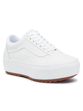 Vans Vans Гуменки Old Skool Stacked VN0A4U15OER1 Бял