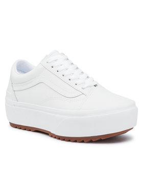 Vans Vans Sneakers aus Stoff Old Skool Stacked VN0A4U15OER1 Weiß