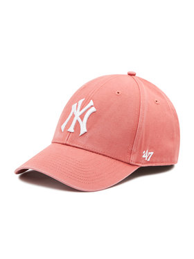 47 Brand 47 Brand Шапка с козирка Mlb New York Yankees Legend B-GWMVP17GWS-IR Розов