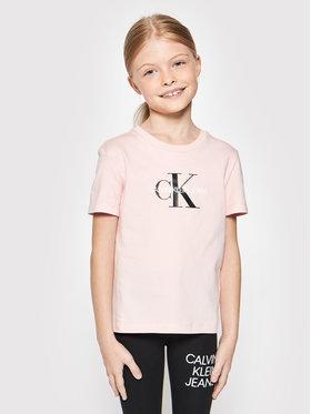 Calvin Klein Jeans Calvin Klein Jeans T-shirt Monogram Logo IU0IU00068 Ružičasta Regular Fit