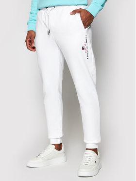 Tommy Hilfiger Tommy Hilfiger Spodnie dresowe Essential MW0MW17384 Biały Regular Fit
