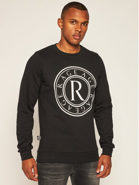 Rage Age Rage Age Sweatshirt Crewneck 2 Noir Slim Fit