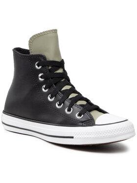 Converse Converse Sneakers aus Stoff Ctas Hi 170390C Schwarz