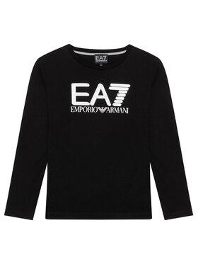 EA7 Emporio Armani EA7 Emporio Armani Bluză 6KBT58 BJ02Z 1200 Negru Regular Fit