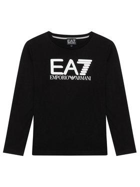 EA7 Emporio Armani EA7 Emporio Armani Majica 6KBT58 BJ02Z 1200 Crna Regular Fit