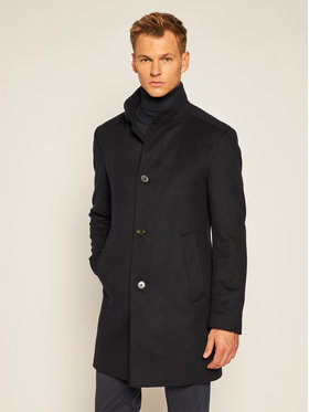 Joop! Joop! Cappotto di lana 17 JC-21Maron 30022586 Blu scuro Slim Fit