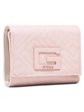 Guess Guess Velká dámská peněženka Brightside SLG SWQG75 80430 Růžová