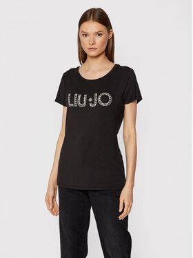 Liu Jo Liu Jo T-shirt 5F1031 J7905 Crna Regular Fit