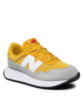New Balance New Balance Sneakersy GS237HG1 Żółty