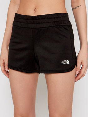 The North Face The North Face Pantaloni scurți sport Train N Logo NF0A3UX6 Negru Regular Fit