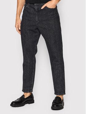 Wrangler Wrangler Jeans Mom W24641352 Grau Mom Fit