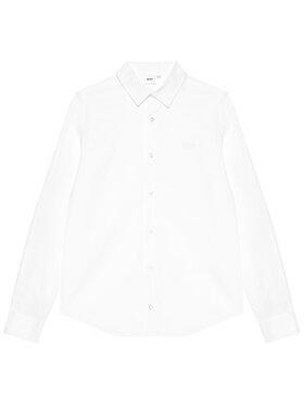 Boss Boss Πουκάμισο J25L26 D Λευκό Regular Fit