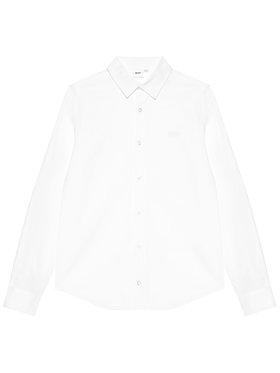 Boss Boss Риза J25L26 D Бял Regular Fit
