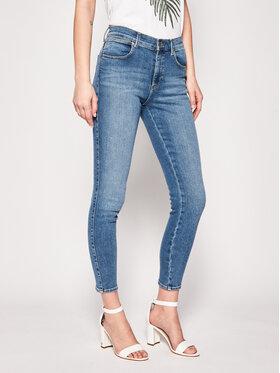 Wrangler Wrangler jeansy Skinny Fit High Rise W27HTX10R Blu Skinny Fit